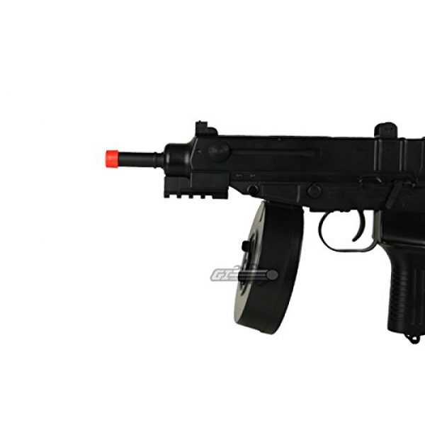 Well Airsoft Rifle 6 Well R2 Skorpion AEP Airsoft SMG (Black)