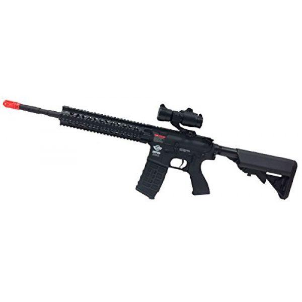 AirsoftAlpha Airsoft Rifle 1 G&G CM-16 R8 L Black (Airsoft Gun)