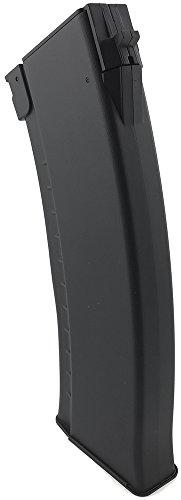 SportPro  4 SportPro 150 Round Polymer AKM Style High Capacity Magazine for AEG AK47 AK74 Airsoft - Black