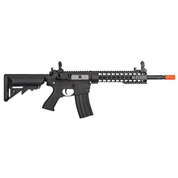 "Lancer Tactical Airsoft Rifle 2 Lancer Tactical New Gen EVO 13.5"" Barrel Free Float M4 Airsoft AEG (Keymod Handguard)"