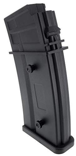 SportPro  4 SportPro Army Force 150 Round Polymer Medium Capacity Magazine for AEG G36 Airsoft - Black