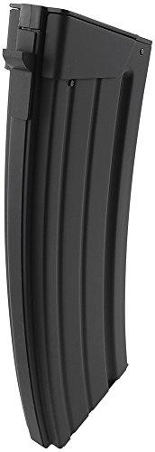 SportPro  5 SportPro 110 Round Metal Medium Capacity Magazine for AEG Galil SAR Airsoft - Black