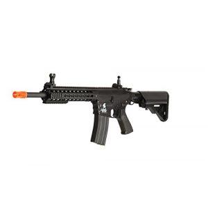 Lancer Tactical Airsoft Rifle 1 Lancer Tactical Airsoft LT-12BK AEG KeyMod 10-inch Polymer Edition - Black