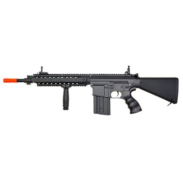 Jing Gong (JG) Airsoft Rifle 1 JG aeg-full metalsr25 full stock nicads/charger included-metal g-bx(Airsoft Gun)