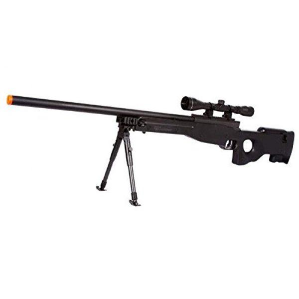 UTG Airsoft Rifle 1 UTG Type 96 Black Airsoft Sniper Rifle with Scope Airsoft Gun