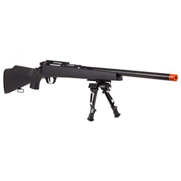 TSD Airsoft Rifle 2 TSD UHC Super X9 Double Bolt Airsoft Rifle, Black Box Mag Airsoft Gun (No Scope)