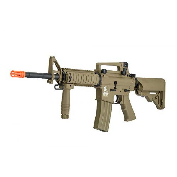 Lancer Tactical Airsoft Rifle 3 Lancer Tactical Gen 2 M4 RIS LT-04T Airsoft Gun AEG Rifle Dark Earth