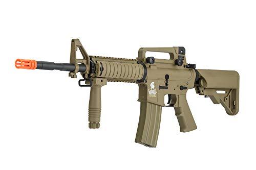 Lancer Tactical  3 Lancer Tactical Gen 2 M4 RIS LT-04T Airsoft Gun AEG Rifle Dark Earth
