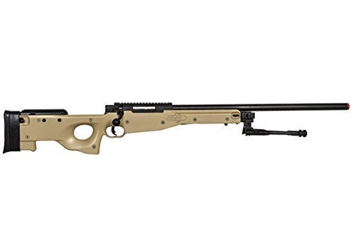 Well Airsoft Rifle 6 Well Airgunplace Type 96 AWP Bolt Action Airsoft Tan Color Sniper Rifle