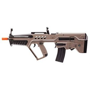 Elite Force Airsoft Rifle 1 Elite Force IWI Tavor AEG 6mm BB Rifle Airsoft Gun, Dark Earth Brown, Tavor 21 (Competition Series), One Size (2278051)