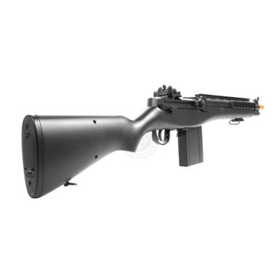 Electric  3 enhanced 2012 full auto electric fps-330 m14 aeg fully automatic and semi automatic airsoft electric gun w/ rail system! 34 inches long! free high capacity magazine
