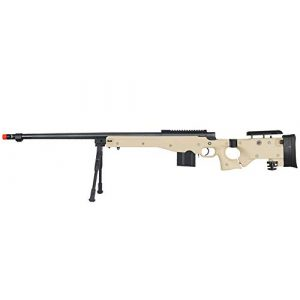 Well Airsoft Rifle 1 Well MB4403 Airsoft Sniper Rifle W/Bipod - Tan