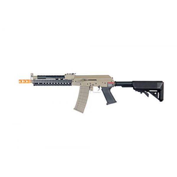 Lancer Tactical Airsoft Rifle 1 Lancer Tactical LT11T AK Tactical RIS Carbine AEG Airsoft Rifle (Tan)