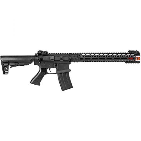 "Lancer Tactical Airsoft Rifle 2 Lancer Tactical JG Golden Eagle E6598 15"" M4 M-LOK AEG Airsoft Rifle Black"