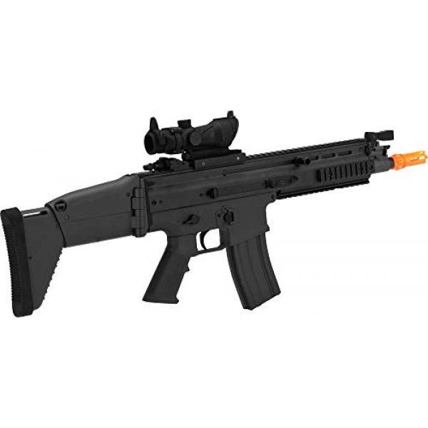 FN Airsoft Rifle 2 FN Scar L AEG - black
