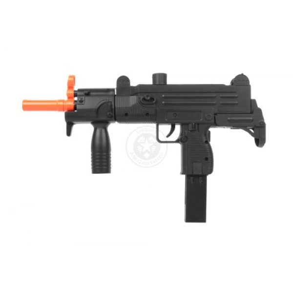 Double Eagle Airsoft Rifle 3 Double Eagle m35 Tactical Uzi Airsoft SMG Spring Powered Pistol(Airsoft Gun)