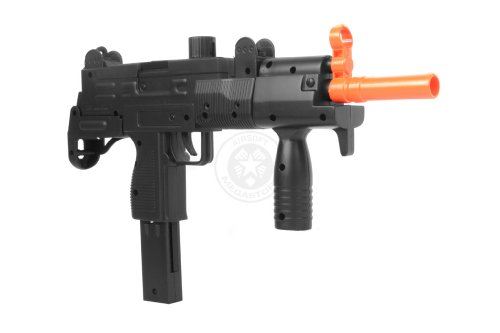 Double Eagle  5 Double Eagle m35 Tactical Uzi Airsoft SMG Spring Powered Pistol(Airsoft Gun)