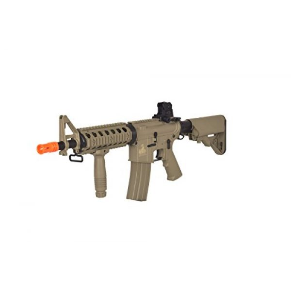 Lancer Tactical Airsoft Rifle 1 Lancer Tactical AEG Airsoft Electric MK18 Mod 0 M4 CQB RIS (Tan Gen 2)