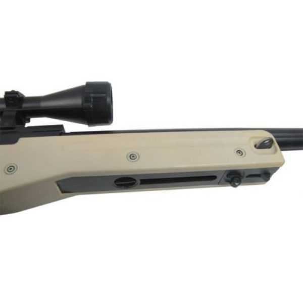Prima USA Airsoft Rifle 7 well l96 heavy single bolt action spring airsoft sniper rifle with scope tan(Airsoft Gun)