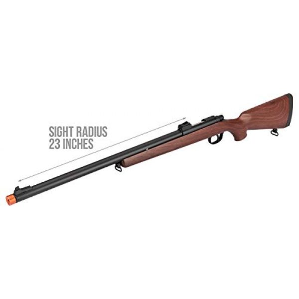 Double Bell Airsoft Rifle 4 Double Bell VSR-10 Spring Bolt Action Airsoft Rifle Faux Wood