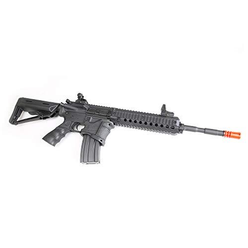 BULLDOG AIRSOFT  2 Bulldog ST Delta L QD Airsoft Electric Gun AEG Rifle - Sportsline CQB Pro Series