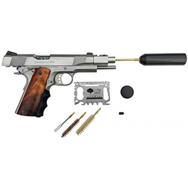 Cedar Mill Fine Firearms Pistol Case 6 Cedar Mill Fine Firearms -Worlds Smallest Micro Pistol Cleaning Kit for Handguns | Free Super-X Tool Bundle with Hard Gun Case Pistol Case |TSA Approved with Pick and Pluck Foam (2 Items)