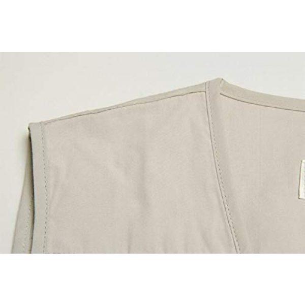 DAFREW Airsoft Tactical Vest 5 DAFREW Thin Vest Outdoor Leisure Fishing Vest Men's Vest Photography Vest (Color : Green, Size : XXL)