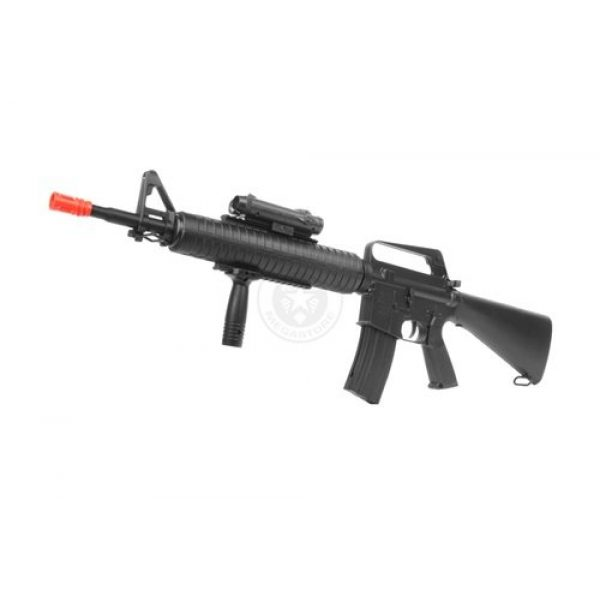 Well Airsoft Rifle 1 wellfire m16a3 Spring Airsoft Rifle - w/Vertical Grip & Flashlight Unit m16(Airsoft Gun)