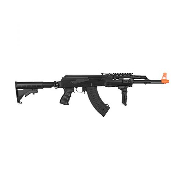 Lancer Tactical Airsoft Rifle 2 Lancer Tactical Semi and Full Auto Electric Airsoft Rifle with Adjustable Stock LT-16E