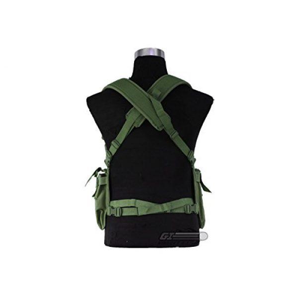 NcSTAR Airsoft Tactical Vest 4 NcSTAR CVUCR2943G Vism Ultimate Chest Rig Green