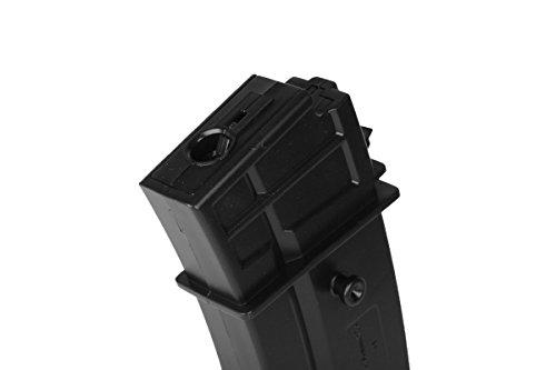 Umarex  4 Umarex H&K G36 140 Round Mid-Cap Airsoft Gun AEG Magazine - Pack of 5