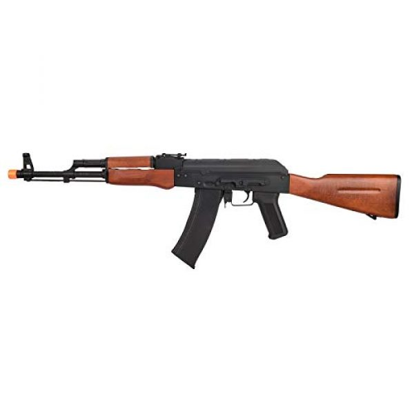 Lancer Tactical Airsoft Rifle 1 Lancer Tactical AK-74N Series AEG Airsoft Rifle Real Wood Furniture