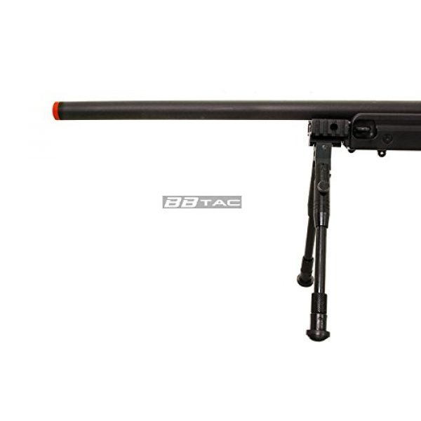 BBTac Airsoft Rifle 5 BBTac b96 awp airsoft sniper rifle with 3-9x40 scope and bi-pod warrior 1(Airsoft Gun)