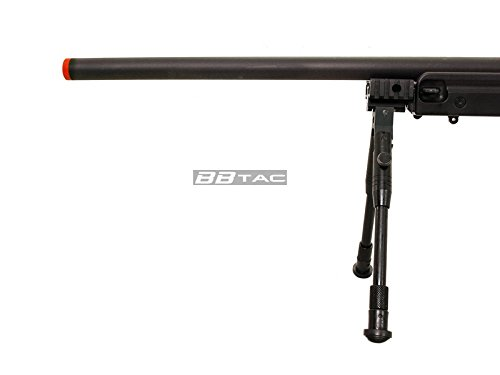 BBTac  5 BBTac b96 awp airsoft sniper rifle with 3-9x40 scope and bi-pod warrior 1(Airsoft Gun)