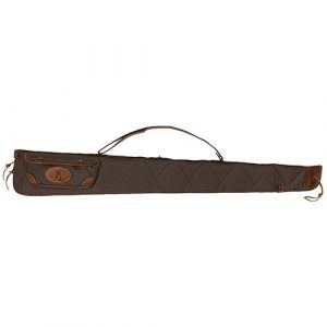 Browning Rifle Case 1 Browning 1413886952 Canvas/Leather Shotgun Case Sizenameinternal 1413886952 Lona Case, Size 52 ,Flint/Brown
