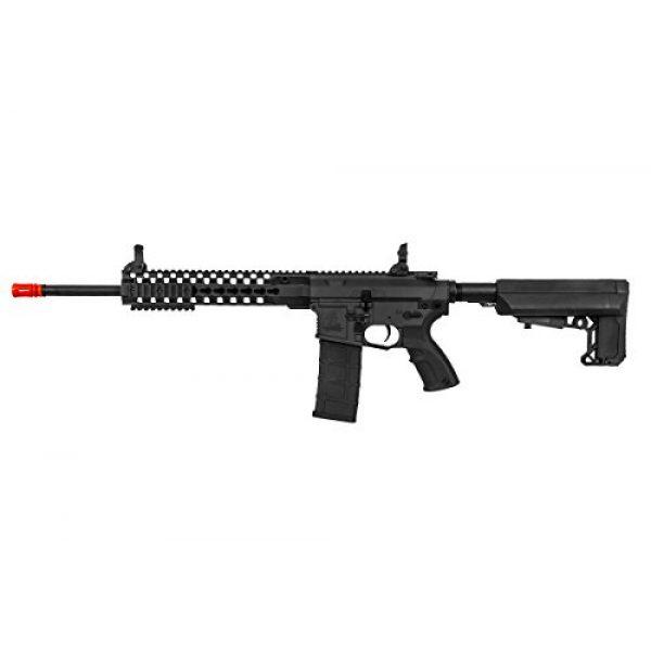 "Lancer Tactical Airsoft Rifle 4 Lancer Tactical M4 Advance Recon Carbine 16"" AEG Airsoft Gun (Black)"