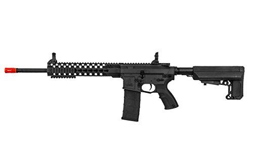 "Lancer Tactical  4 Lancer Tactical M4 Advance Recon Carbine 16"" AEG Airsoft Gun (Black)"