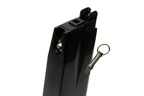 KJW  3 KJ Works 24rds Airsoft Metal 6mm Gas Magazine For P226 KP01 GBB -Mobile Ring Included