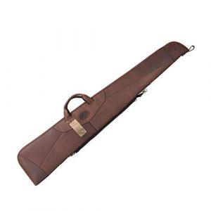 TOURBON Rifle Case 1 TOURBON Hunting Shooting Scoped Rifle Case Leather Shotgun Slip Bag