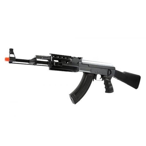 BBTac Airsoft Rifle 1 BBTac BT-AK Tactical RIS AEG w/ Integrated Rail System, Full Metal Gearbox (BLACK)