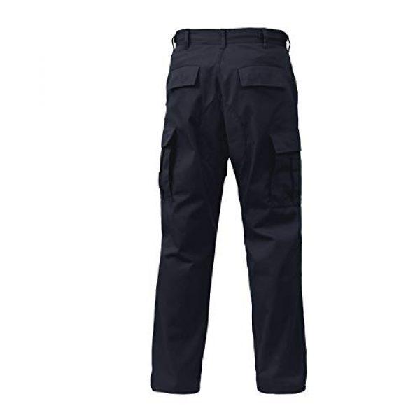 "Rothco Tactical Pant 3 Tactical BDU (Battle Dress Uniform) Military Cargo Pants, L (35""-39"" Waist), Midnight Navy Blue"