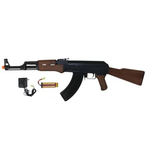 Jing Gong (JG) Airsoft Rifle 1 JG ak47 airsoft aeg electric rifle 6803(Airsoft Gun)