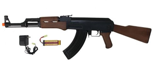 Jing Gong (JG)  1 JG ak47 airsoft aeg electric rifle 6803(Airsoft Gun)