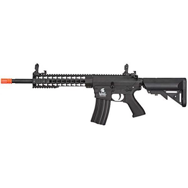 "Lancer Tactical Airsoft Rifle 1 Lancer Tactical New Gen EVO 13.5"" Barrel Free Float M4 Airsoft AEG (Keymod Handguard)"