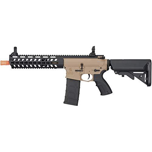 "Lancer Tactical  1 Lancer Tactical 10.5"" Rapid Deployment Carbine M4 RDC Airsoft AEG Rifle Low Speed Tan"