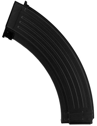SportPro  1 SportPro 200 Round Metal RPK Medium Capacity Magazine for AEG AK47 AK74 Airsoft - Black