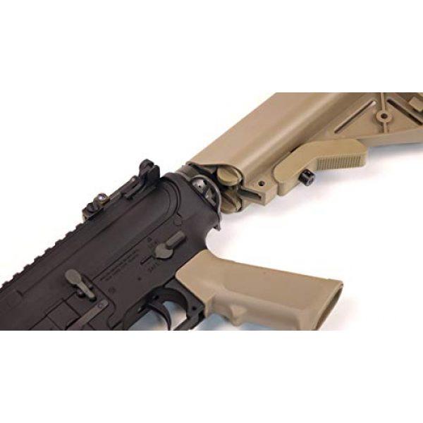 Wearable4U Airsoft Rifle 5 Umarex MK18 Avalon Black/Tan AEG Electric Airsoft Rifle Gun with Wearable4U Bundle