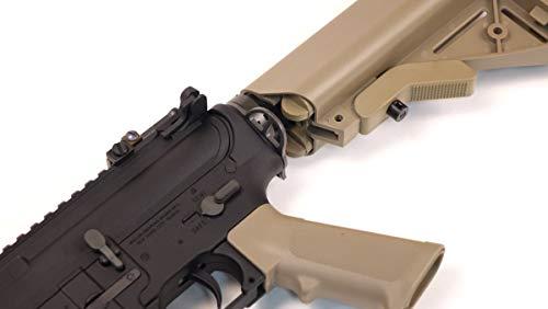 Wearable4U  5 Umarex MK18 Avalon Black/Tan AEG Electric Airsoft Rifle Gun with Wearable4U Bundle