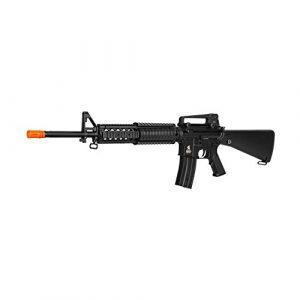 """Lancer Tactical Airsoft Rifle 1 Lancer Tactical LT-22B 12"""" RIS AEG Semi Full Auto Airsoft Rifle Gun with Sights"""