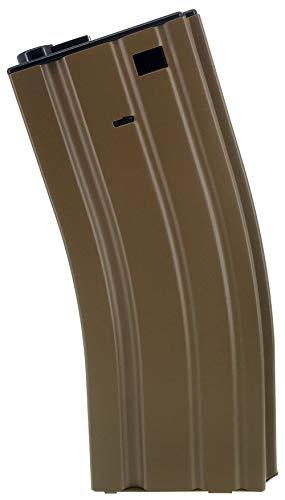 SportPro  1 SportPro 140 Round Metal Medium Capacity Magazine for AEG M4 M16 Airsoft - Dark Earth